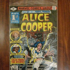 Marvel Premiere #50 1st Appearance of Alice Cooper